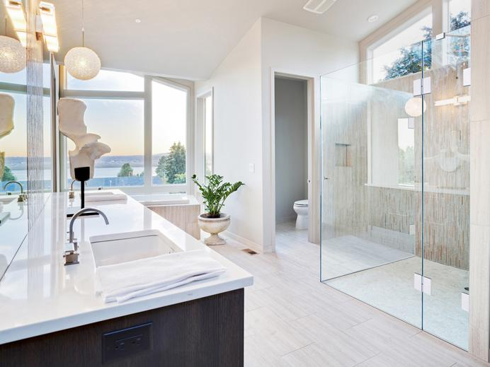 Luxusbad Mit Begehbarer Dusche