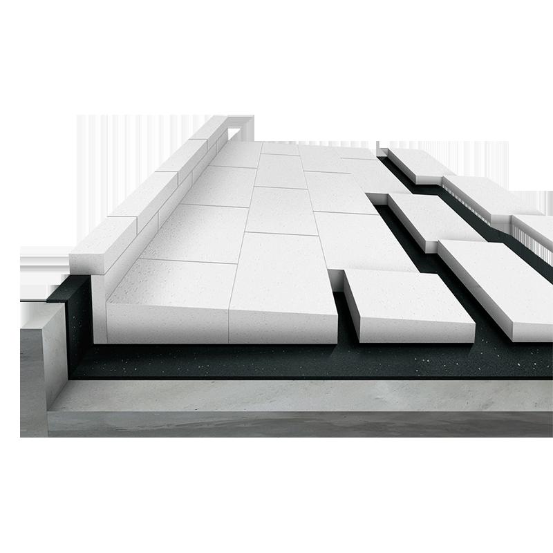 Extrem Gefälledämmung für Boden und Dach - Saxoboard.net CA79