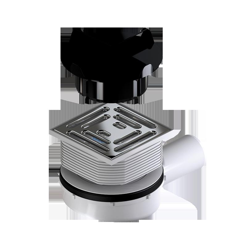 viertelkreis duschwanne punktablauf aus mineralwerkstoff. Black Bedroom Furniture Sets. Home Design Ideas