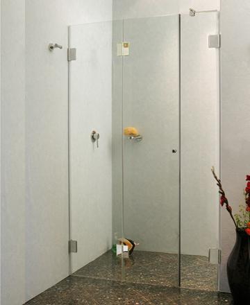 nischen t ren duschkabine faltt r innen ab 110 f1n. Black Bedroom Furniture Sets. Home Design Ideas