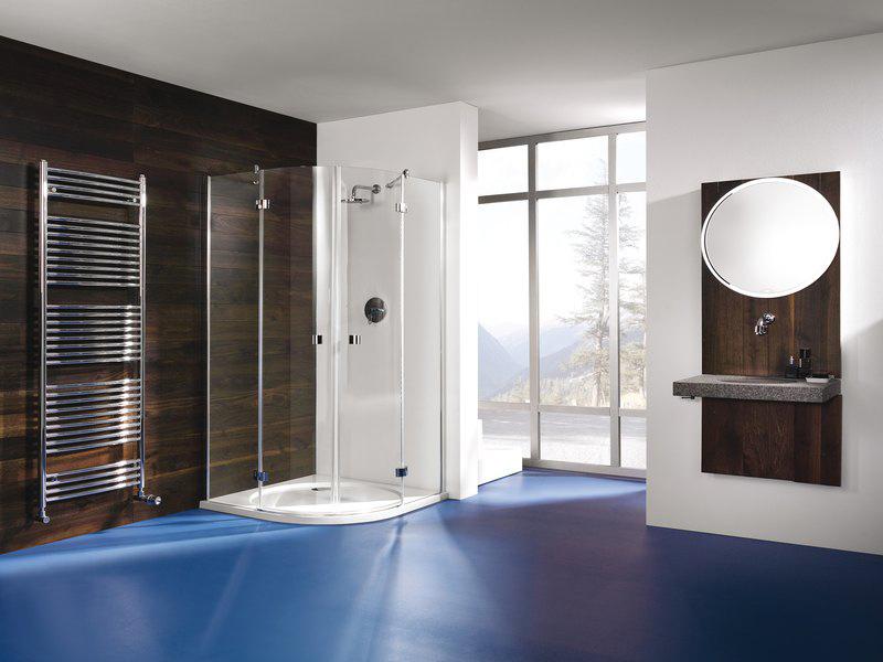 bodengleiche dusche glaswand. Black Bedroom Furniture Sets. Home Design Ideas
