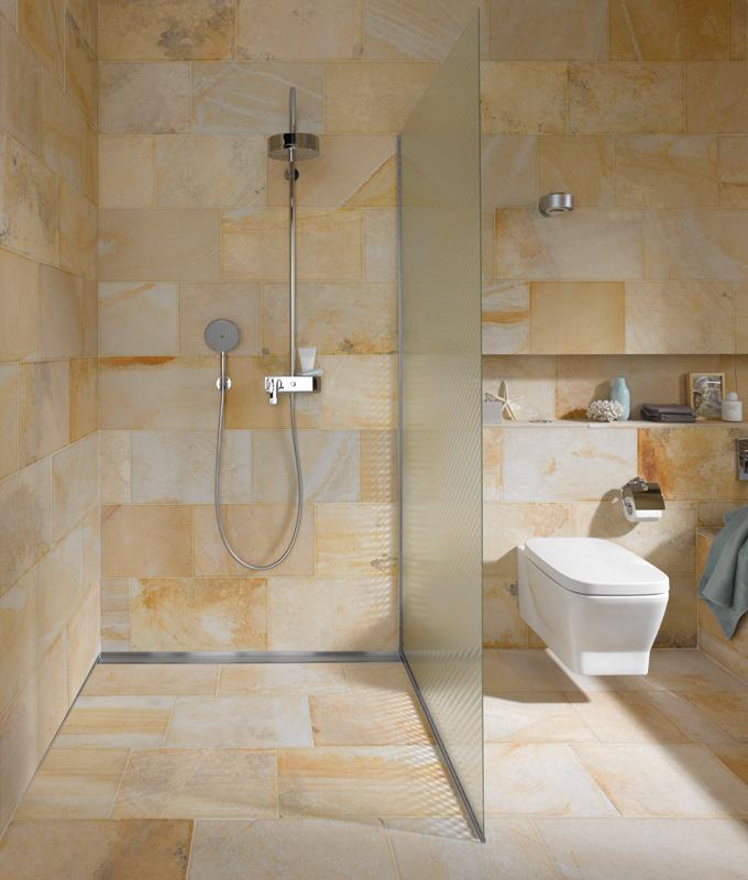 Badezimmer Begehbare Dusche